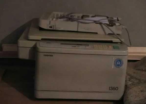Fotocopiadora  a preto e branco