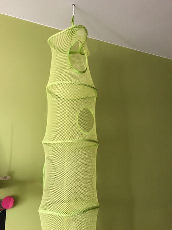 Wiszący kosz na zabawki Ikea zielony