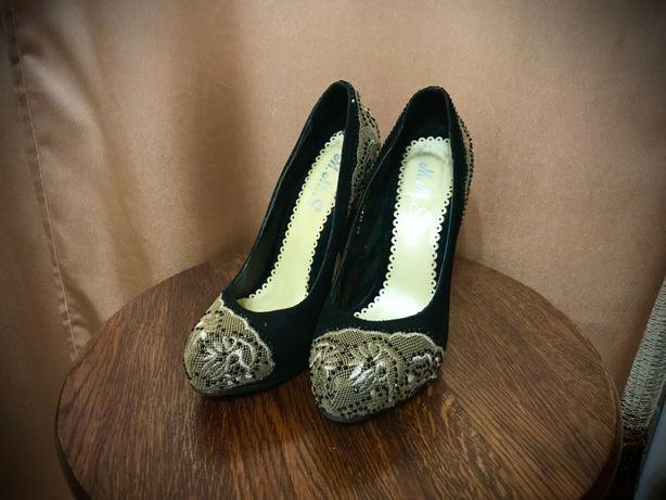 Туфли M.M.8. чёрные