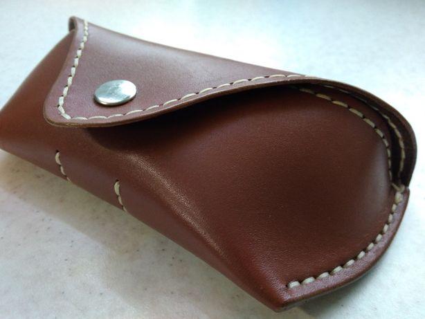 Чехол для очков (очечник) из кожи ручной работы