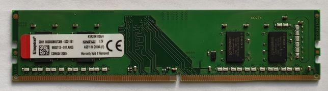 Оперативная память Kingston DDR4-2400 4GB (KVR24N17S6/4)