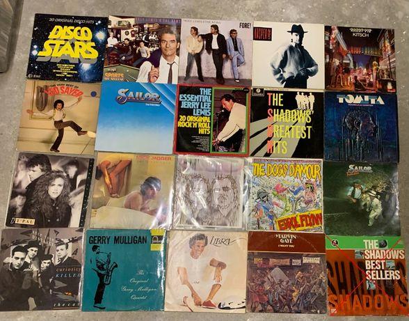 Winyle: Julio Iglesias, The Shadows, Mick Jagger, Tomita, Sailor. TPau