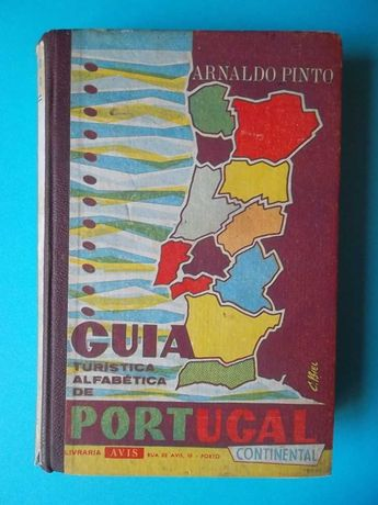 Guia Turística Alfabética de Portugal Continental - 1961