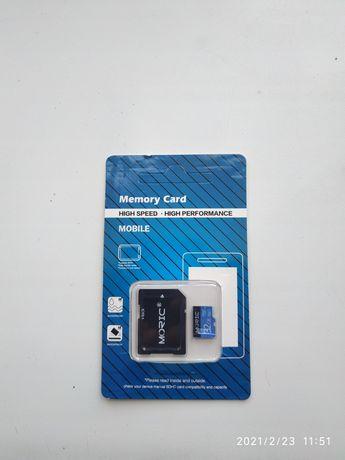Скоростная карта microSD на 32Гб (класс 10, UHS-I)