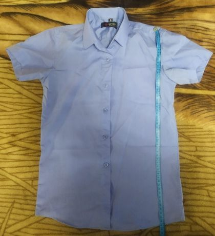 Рубашки школьные на мальчика, рост 160-164