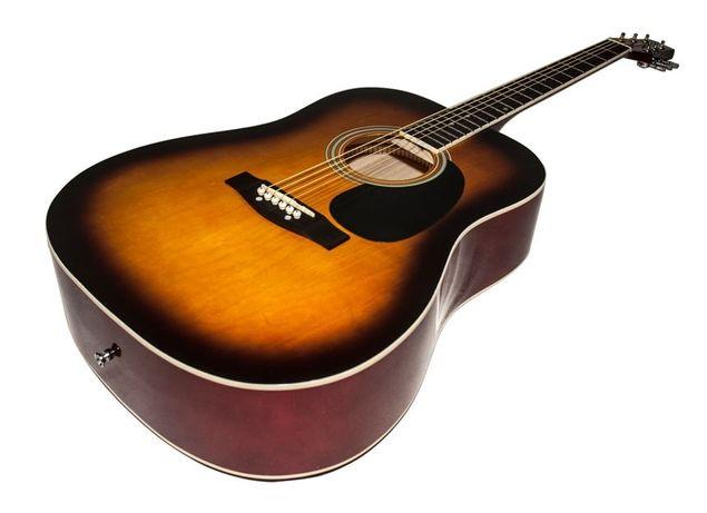 Gitara Akustyczna West-Acoustic + akcesoria
