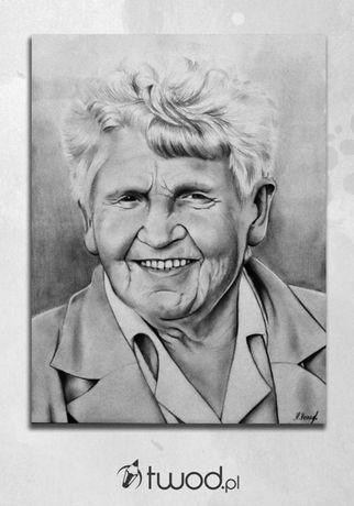 Portret, karykatura ołówkiem na zamówienie A4