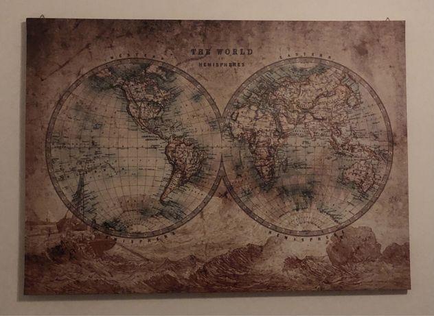 Quadro Impresso mundo