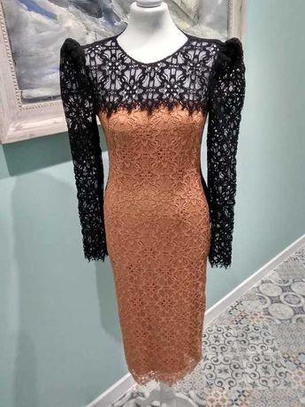 sukienka marki PINKO roz. 38 nowa koronkowa M