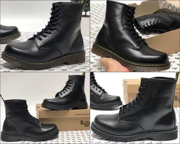 Мужские демисезонные и с МЕХОМ ботинки Dr.Martens Др.Мартинс.