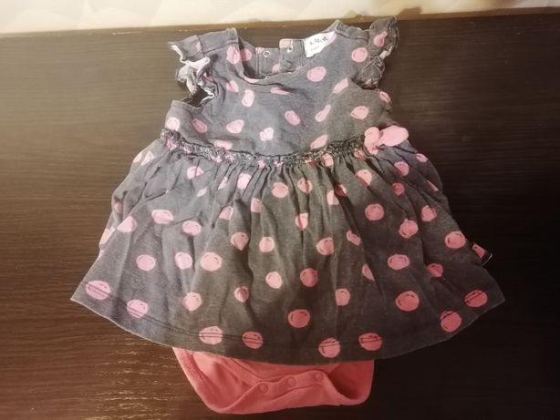 9 pak. Zestaw dla dziewczynki: Spodnie, pajacyki...Rozm. 86.