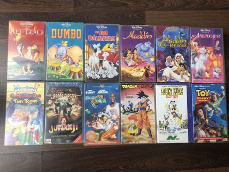 Lote Filmes VHS Infantis
