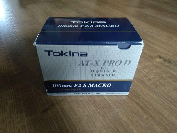 Obiektyw makro (macro) TOKINA AT-X Pro D do Nikon
