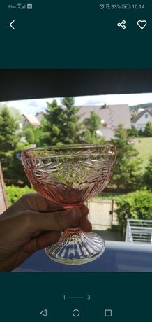 Pucharek rozalinowy PRL