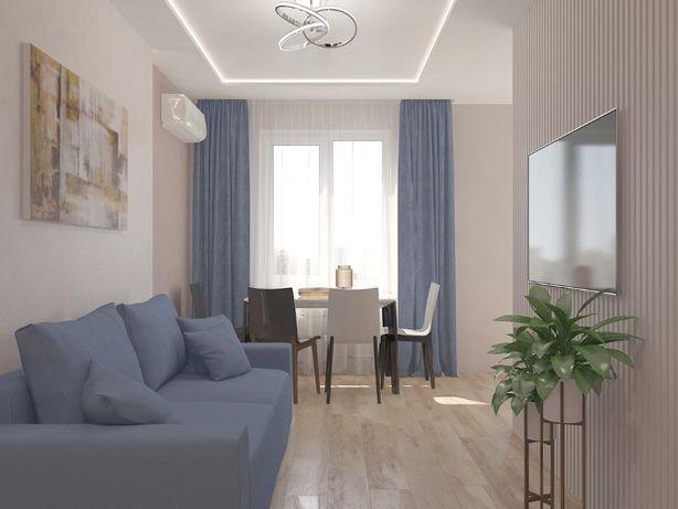 АКЦИЯ! Дизайн проект интерьера квартиры /дома от120грн/м2, дизайнер