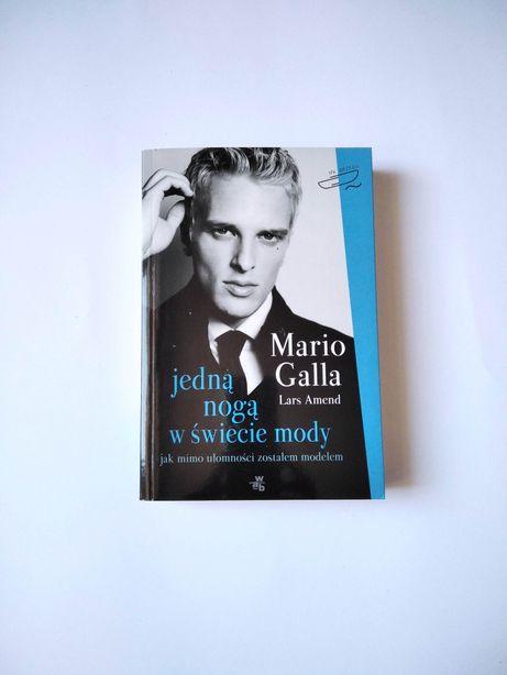 NOWA Jedną nogą w świecie mody Mario Galla Lars Amend biografia G40
