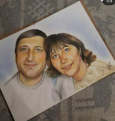 портрет с фото / портрет по фото / портрет на заказ