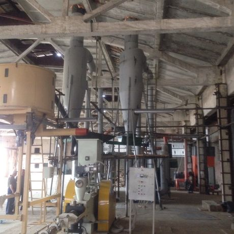 Сушки биомассы САД-05