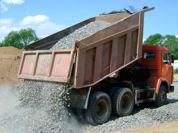 Грузовые перевозки сыпучих строительных материалов