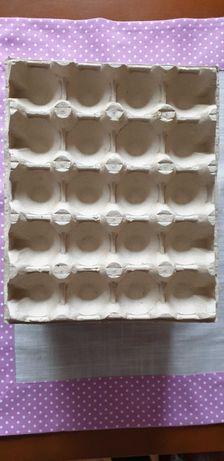 Wytłaczanki wytłoczki na 20 jaj zestaw 22 sztuki