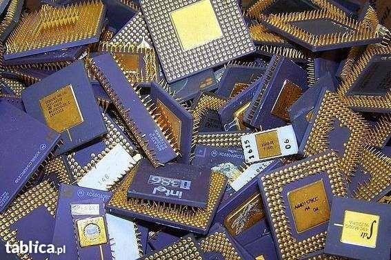 Skup złomu komputerowego, płyt głównych, procesorów, laptopów, telefon