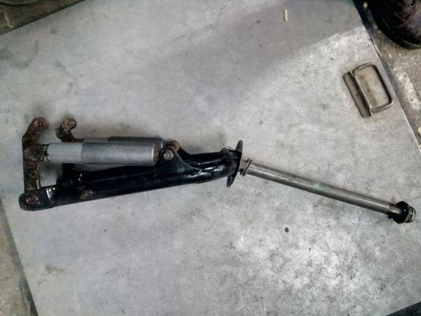 Передняя вилка-траверса на скутер Хонда-Такт - 16,24,ПАЛ