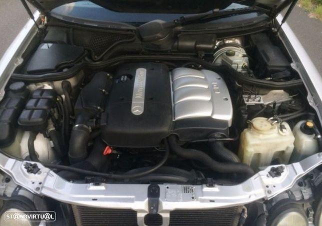Motor Mercedes W210 E220cdi 136cv 611.962 611.961 Caixa de Velocidades Automatica - Motor de Arranque  - Alternador - compressor Arcondicionado - Bomba Direção