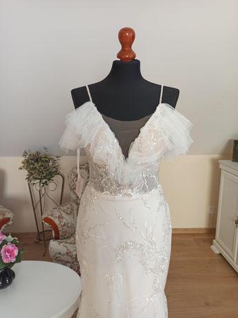 Suknia ślubna Eurydyka luksusowa syrenka