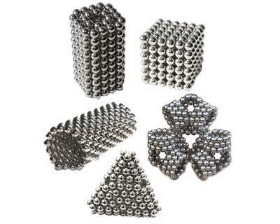 Неокуб никелевый 5 мм 216 сфер магнитные шарики, головоломка, Neo Cube
