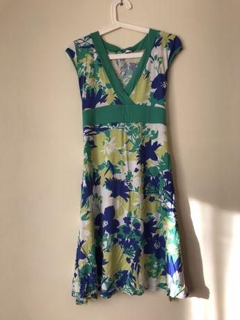 Letnia sukienka w kwiaty midi New Look M