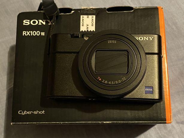DSC-RX100 VII Sony - Stan IDEALNY, gwarancja, dowód zakupu