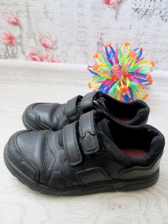Кожаные туфли кроссовки clarks, 20 см. на мальчика. кларкс. красовки