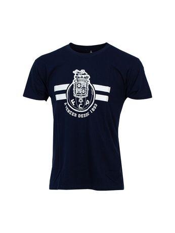 T-shirt Ad Azul Escuro Logo + A vencer