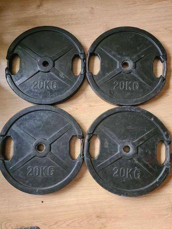 Pesos/discos de musculação 20kg