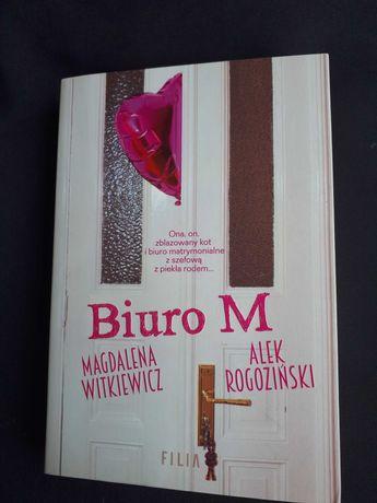 """Nowa Książka """"Biuro M"""" Magdaleny Witkiewicz"""