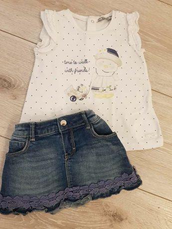 Koszulka+ spódnica Mayoral r.92