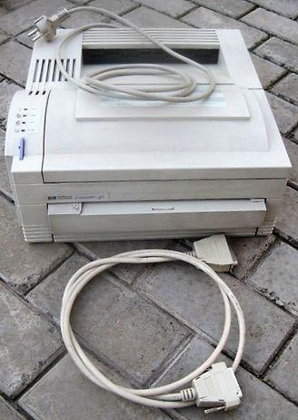 Принтер HP Laser Jet 4L + родной картридж +шнуры: все работает