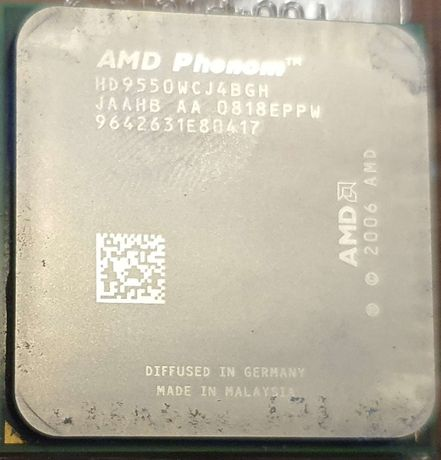 Processador Quad Core AMD Phenom X4 9550 2.2 ghz - Porto