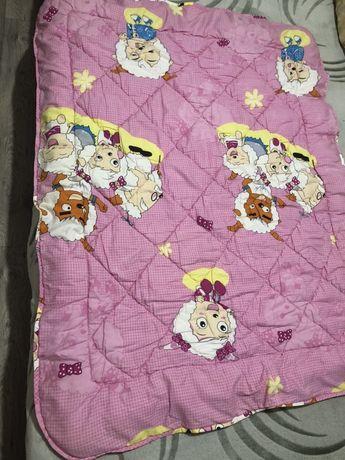 Одеялко для детской кроватки / манежа