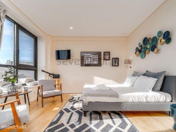 Apartamento T0 City & View Mobilado e Equipado - Rua Fern...