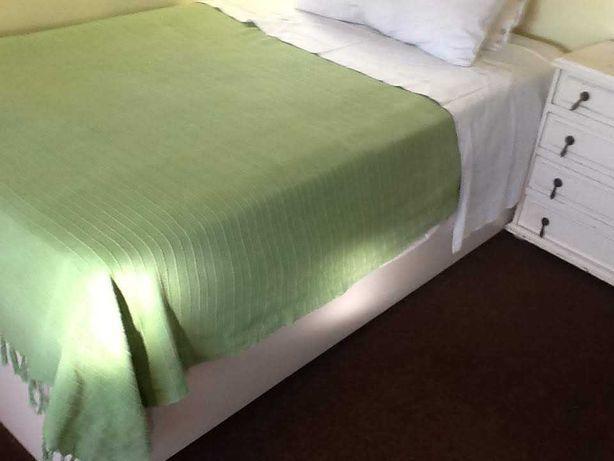 Cama dupla solteiro + colchão