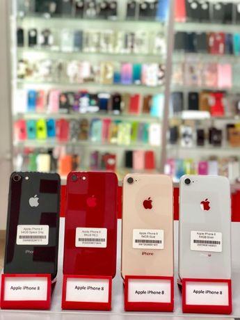 Apple iPhone 8 64GB RED / Space Gray / Gold ГАРАНТІЯ від магазину