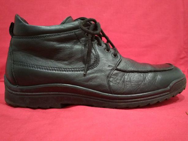 Кожаные зимние ботинки Waldaufer Германия  45 размер