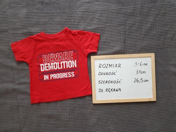 Koszulka bluzka T-shirt PRIMARK r. 68 stan idealny