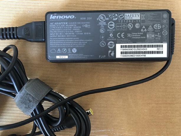 Oryginlany zasilacz Lenovo thinkpad 90W mocny 20V 4,5A