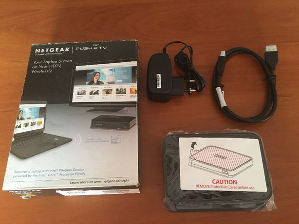 NETGEAR PTV 1000 Push2TV wifi video adapter obraz z komputera na TV HD
