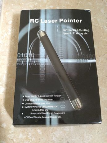 Apontador laser para apresentações ligação usb