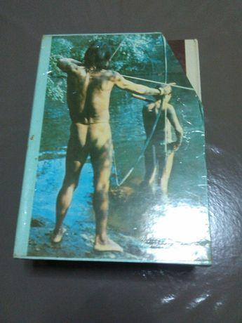 Vendo coleção de livros, os grandes enigmas do Homem, 6 volumes