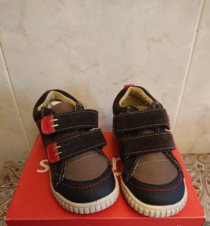 Кожаные кроссовки umi для мальчика