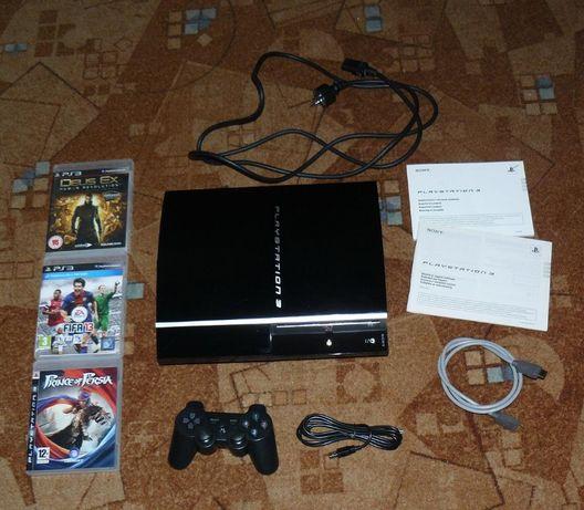 PS 3 40gb / stan bdb / zestaw + gry # Playstation3